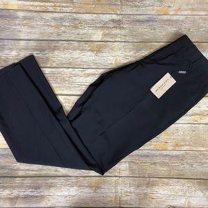 Burberry Black Dress Pants, NWT, Sz 18